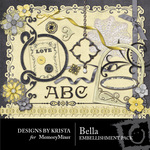 Bella DBK Embellishment Pack-$2.99 (Designs by Krista)