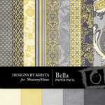 Bella DBK Paper Pack-$3.99 (Designs by Krista)