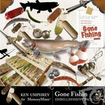 Gone Fishin Embellishment Pack-$1.50 (Ken Umphrey)