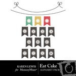 Eat Cake Alphabet Pack-$0.99 (Karen Lewis)