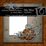 My Man QuickMix-$5.99 (Ettes and Company by Fayette)