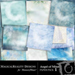 Angel of Mine Paper Pack 1-$3.99 (MagicalReality Designs)