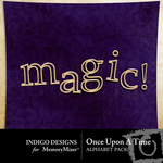 Once Upon a Time Alphabet Pack-$0.99 (Indigo Designs)