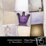 Once Upon a Time Paper Pack-$3.99 (Indigo Designs)