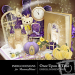 Once Upon a Time Embellishment Pack-$2.99 (Indigo Designs)