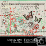 Family Moments Embellishment Pack-$3.99 (Lindsay Jane)