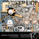 Construct It Embellishment Pack-$1.50 (Albums to Remember)