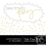 Take Time Wk 19 Embellishment Pack-$0.00 (Lasting Impressions)