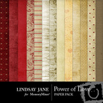 Power of Love Paper Pack-$3.99 (Lindsay Jane)