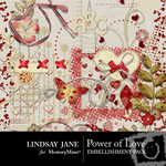Power of Love Embellishment Pack-$3.99 (Lindsay Jane)