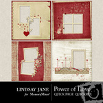 Power of Love Quick Page QuickMix-$3.49 (Lindsay Jane)