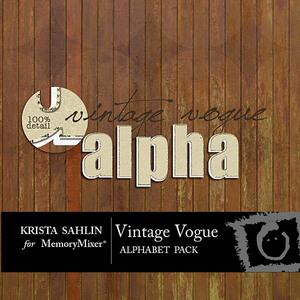 Vintage vogue alpha medium