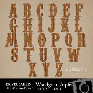 Woodgrain alpha medium
