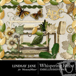 Whispering Forest Embellishment Pack-$3.99 (Lindsay Jane)
