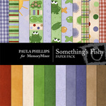 Somethings Fishy Paper Pack-$3.99 (Paula Phillips)