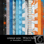Wild Child Paper Pack-$3.99 (Lindsay Jane)