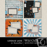 Wild Child Quick Page QuickMix-$3.49 (Lindsay Jane)
