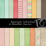 Life Is Good Paper Pack-$3.99 (Karen Lewis)