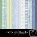 Baby Boy Paper Pack-$3.99 (Lindsay Jane)