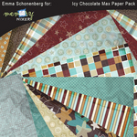 Icy chocolate paper pack small