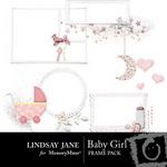 Baby Girl Frame Pack-$2.99 (Lindsay Jane)