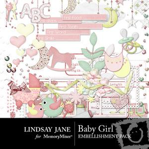Baby girl emb medium