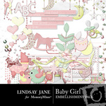 Baby Girl Embellishment Pack-$3.99 (Lindsay Jane)