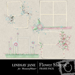 Flower Shoppe Frame Pack-$2.99 (Lindsay Jane)