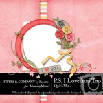 PS I Love You Too QuickMix-$5.49 (Ettes and Company by Fayette)