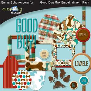 Good dog max embellishment pack medium