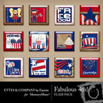 Fabulous 4th Flair Pack-$1.99 (Fayette Designs)