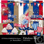 Fabulous 4th Mini Pack-$3.99 (Ettes and Company by Fayette)