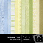 Perfect Day Paper Pack-$3.99 (Lindsay Jane)