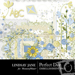 Perfect Day Embellishment Pack-$3.99 (Lindsay Jane)