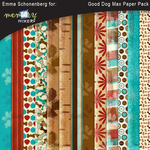 Good Dog Max Paper Pack-$2.99 (Emma Schonenberg)