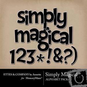 Simply magical alpha medium
