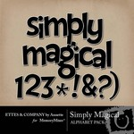 Simply Magical Alphabet Pack-$1.00 (Ettes and Company by Annette)