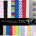 Simply Magical Paper Pack-$2.00 (Ettes and Company by Annette)