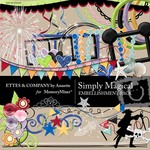 Simply Magical Embellishment Pack-$3.45 (Ettes and Company by Annette)