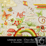 Over the Rainbow Embellishment Pack-$3.99 (Lindsay Jane)
