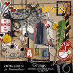 Grunge Embellishment Pack-$3.99 (Krista Sahlin)