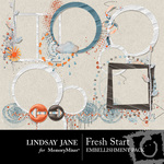 Fresh Start LJ Frame Pack-$2.99 (Lindsay Jane)