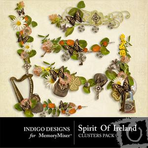 Spirit of ireland clusters medium