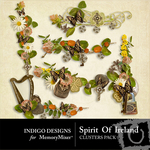 Spirit of Ireland Cluster Pack-$2.49 (Indigo Designs)