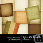 Spirit of Ireland Paper Pack-$3.99 (Indigo Designs)