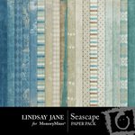 Seascape Paper Pack-$3.99 (Lindsay Jane)