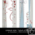 Splash of Red Border Pack-$2.99 (Lindsay Jane)