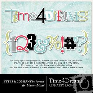 Time 4 dreams alpha medium