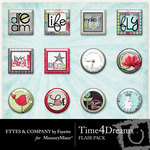 Time 4 Dreams Flair Pack-$1.99 (Fayette Designs)