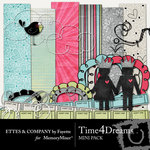 Time 4 Dreams Mini Pack-$2.99 (Ettes and Company by Fayette)